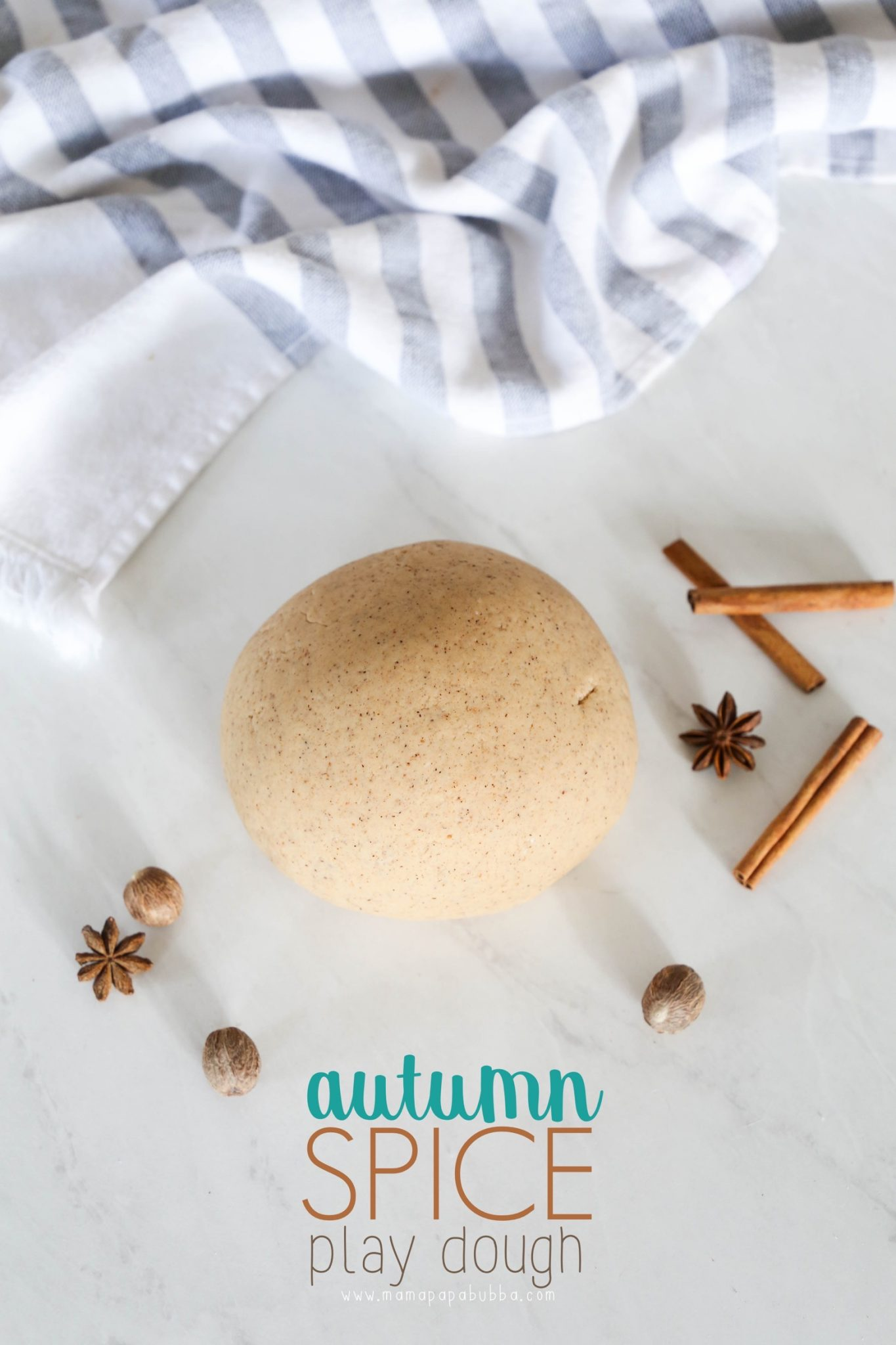 Autumn Spice Play Dough | Mama Papa Bubba