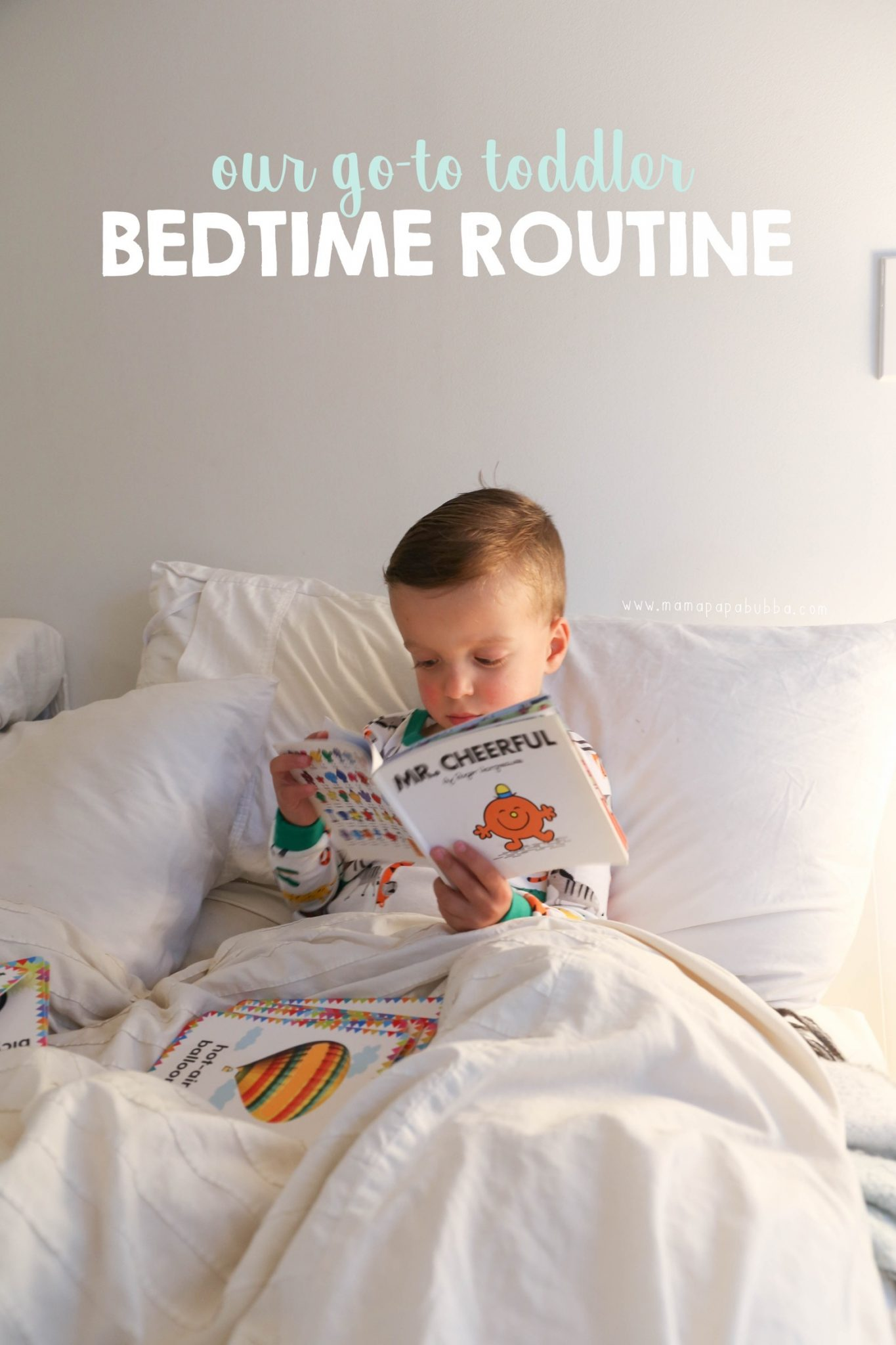 Our Perfect Toddler Bedtime Routine | Mama Papa Bubba
