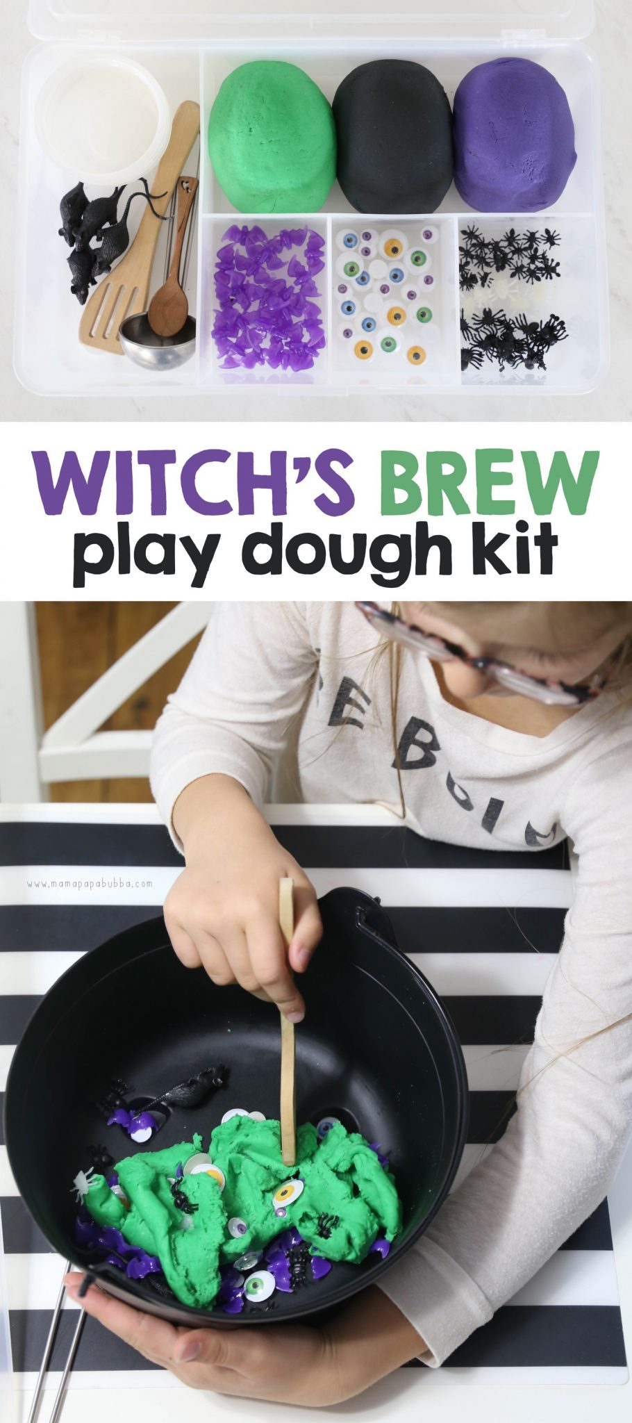 Witch s Brew Play Dough Kit || Mama Papa Bubba