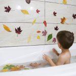 Fall Leaf Bath