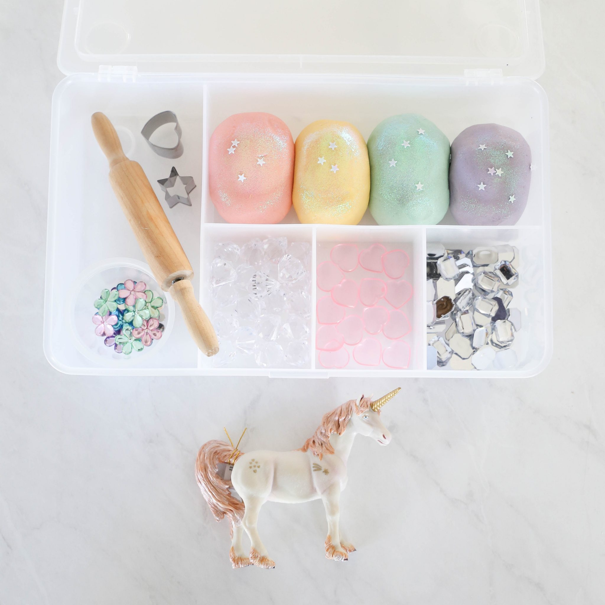 Unicorn Play Dough Kit
