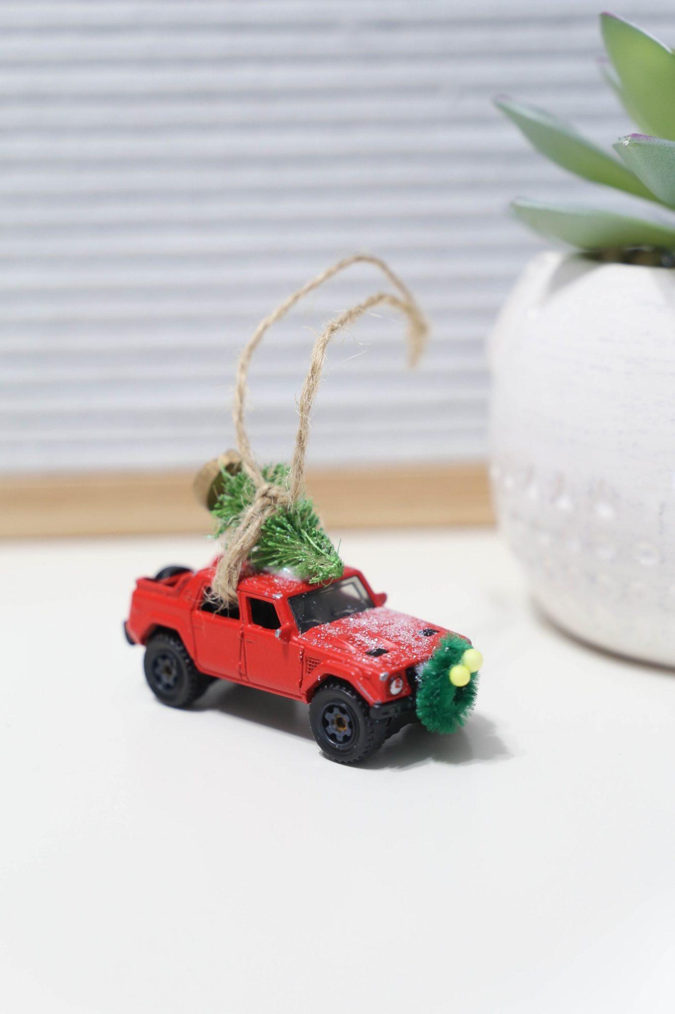 Christmas Truck Ornaments