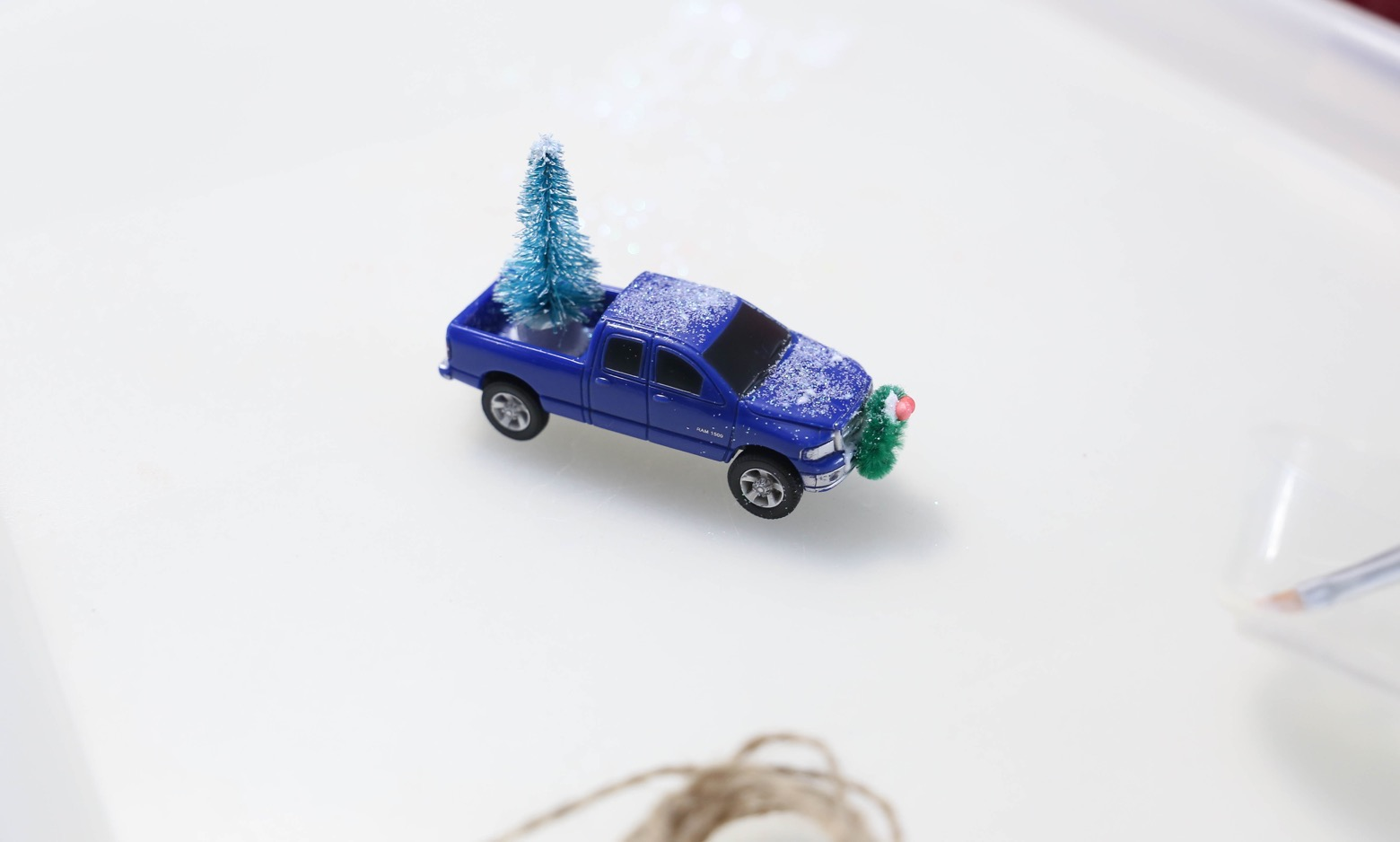 Christmas Truck Ornaments