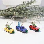 Homemade Christmas Truck Ornaments