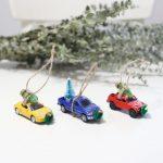 Homemade Christmas Truck Ornaments