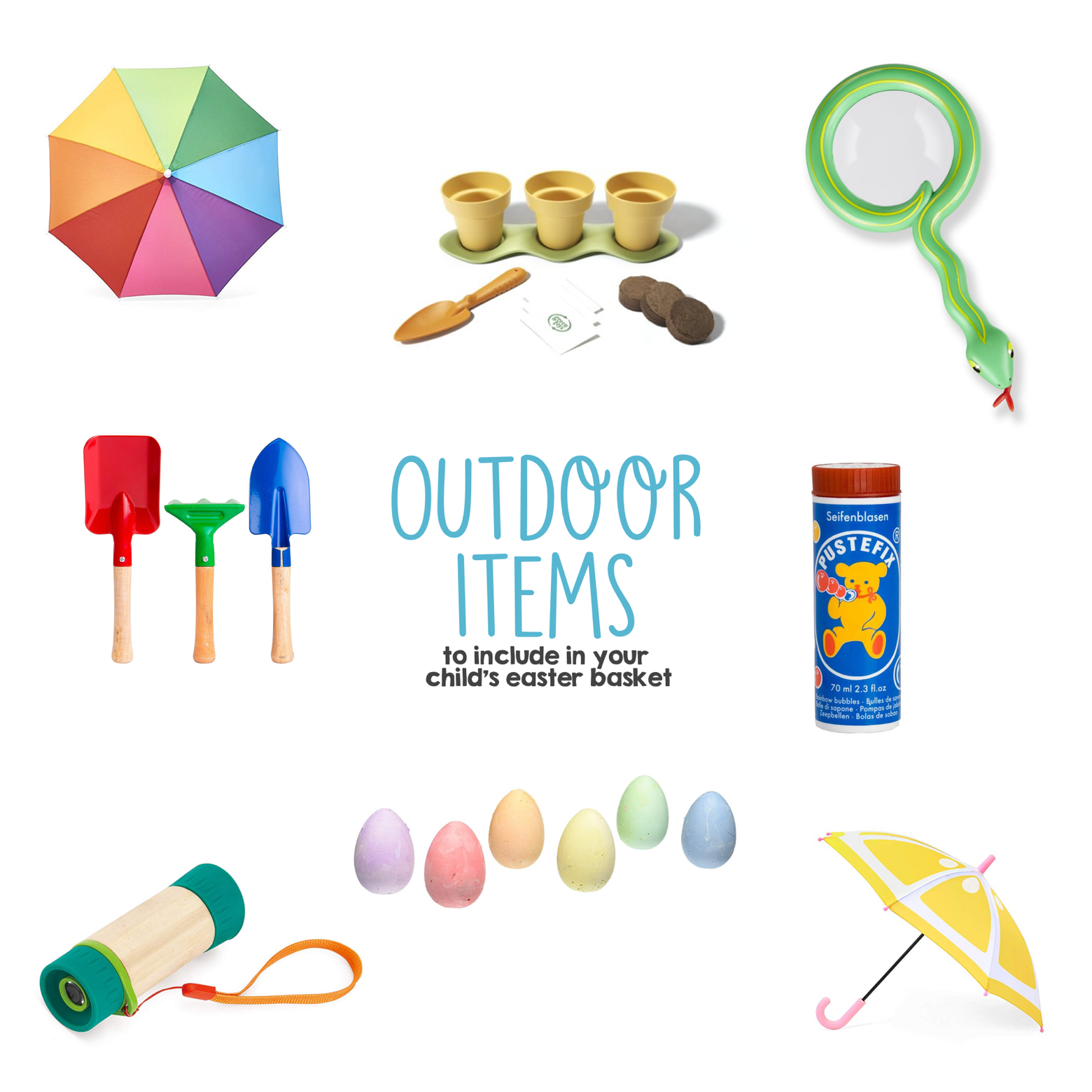 Outdoor Items to Include in Your Child s Easter Basket | Mama Papa Bubba