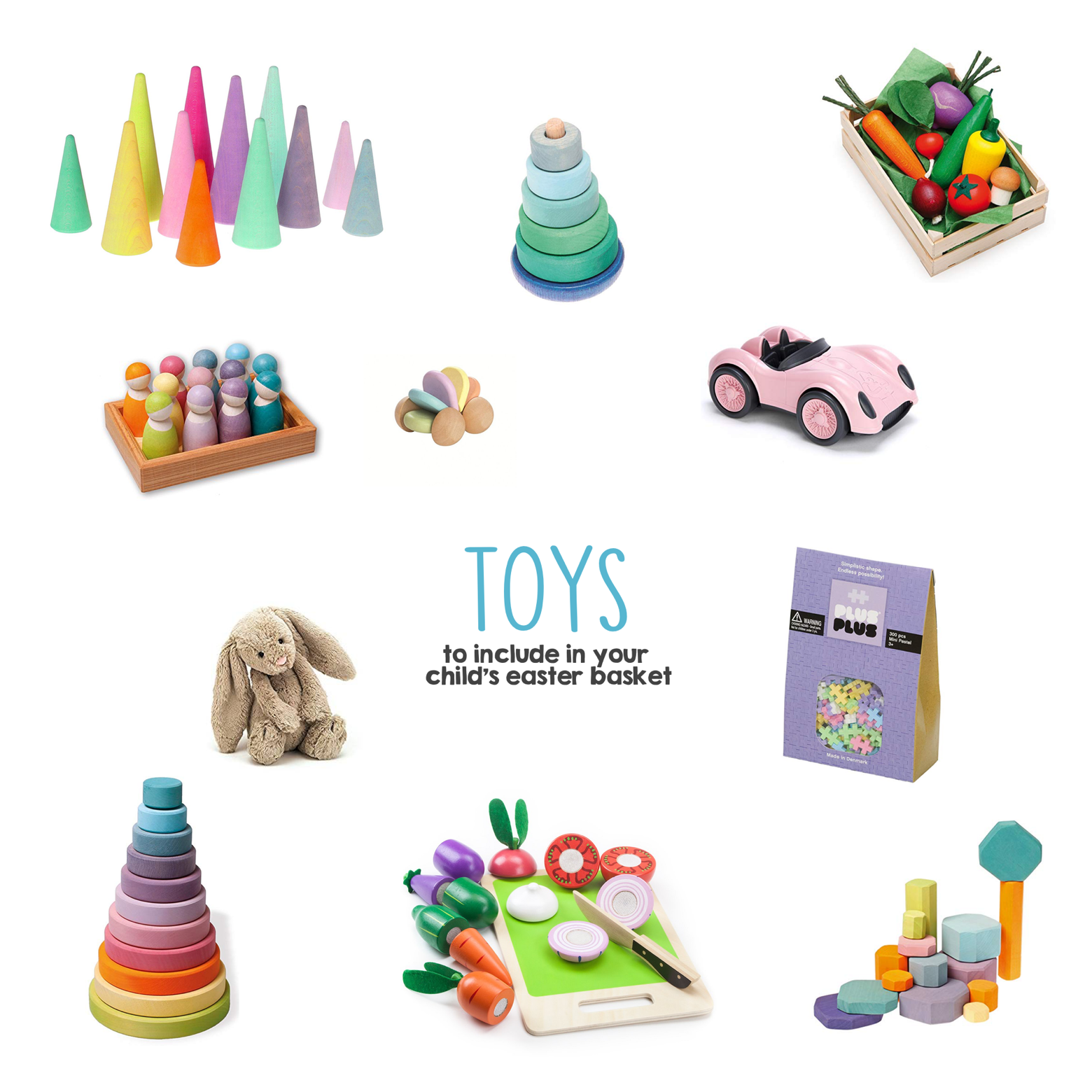 Toys to Include in Your Child s Easter Basket | Mama Papa Bubba