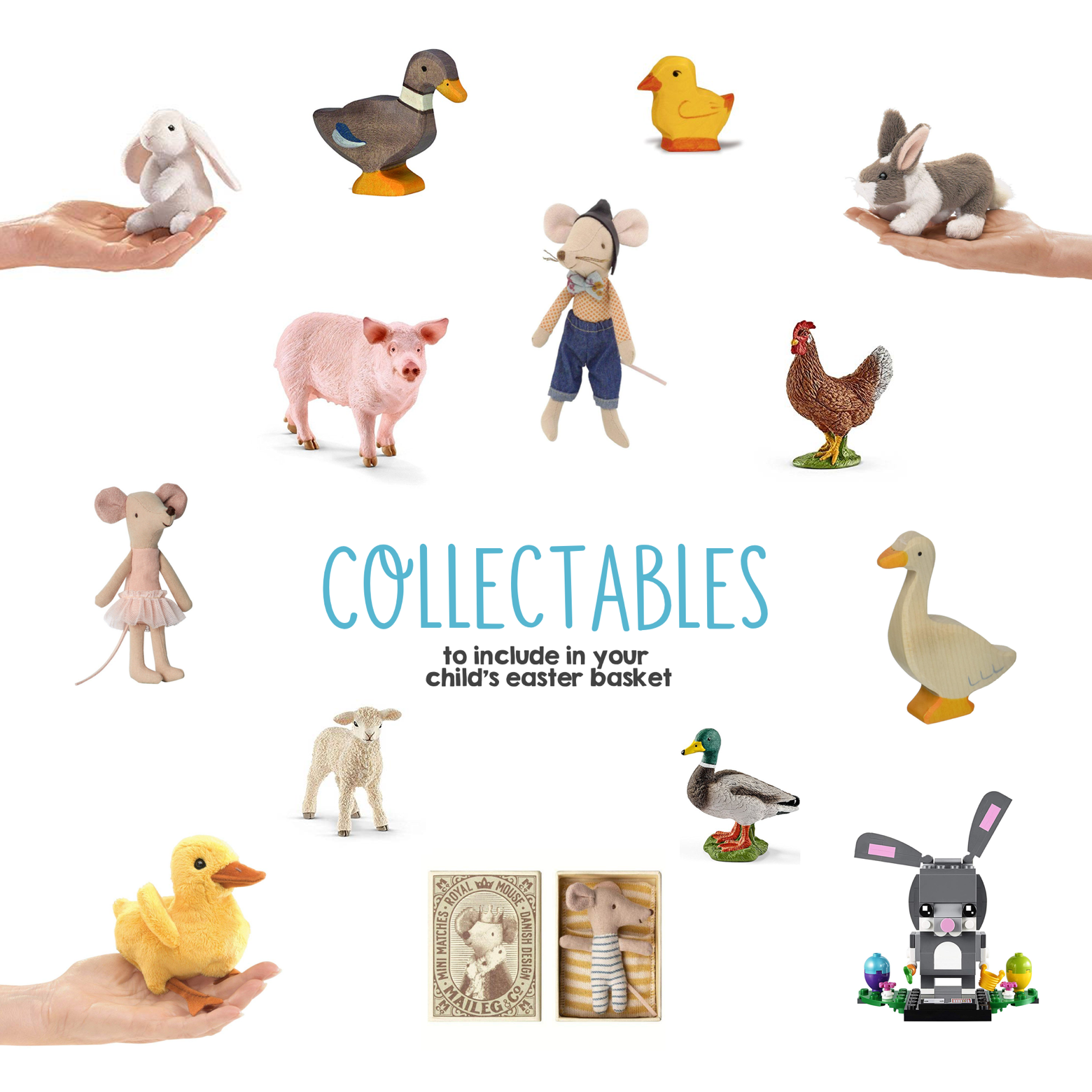 Collectables to Include in Your Child s Easter Basket | Mama Papa Bubba