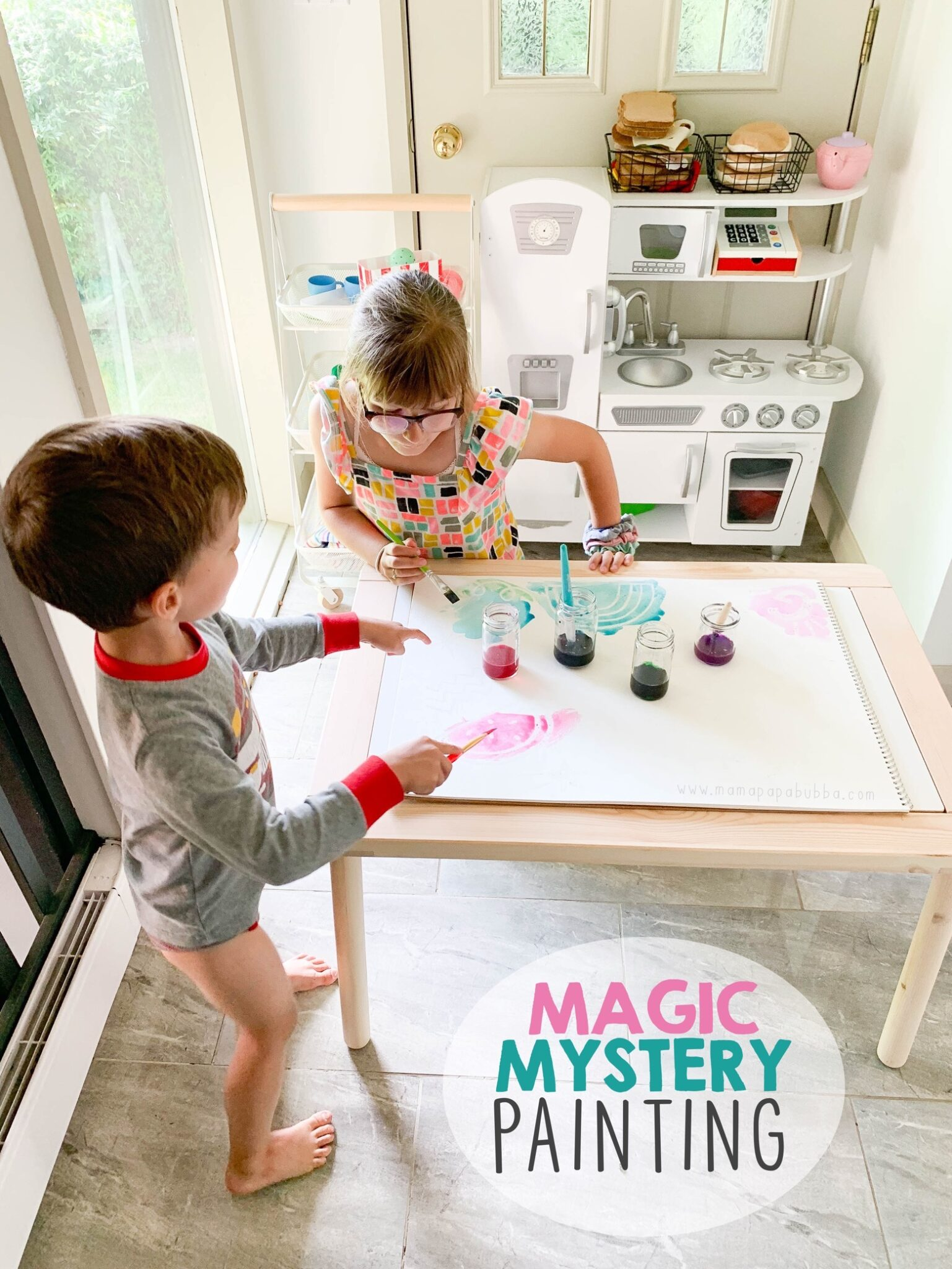 Magic Mystery Painting | Mama Papa Bubba