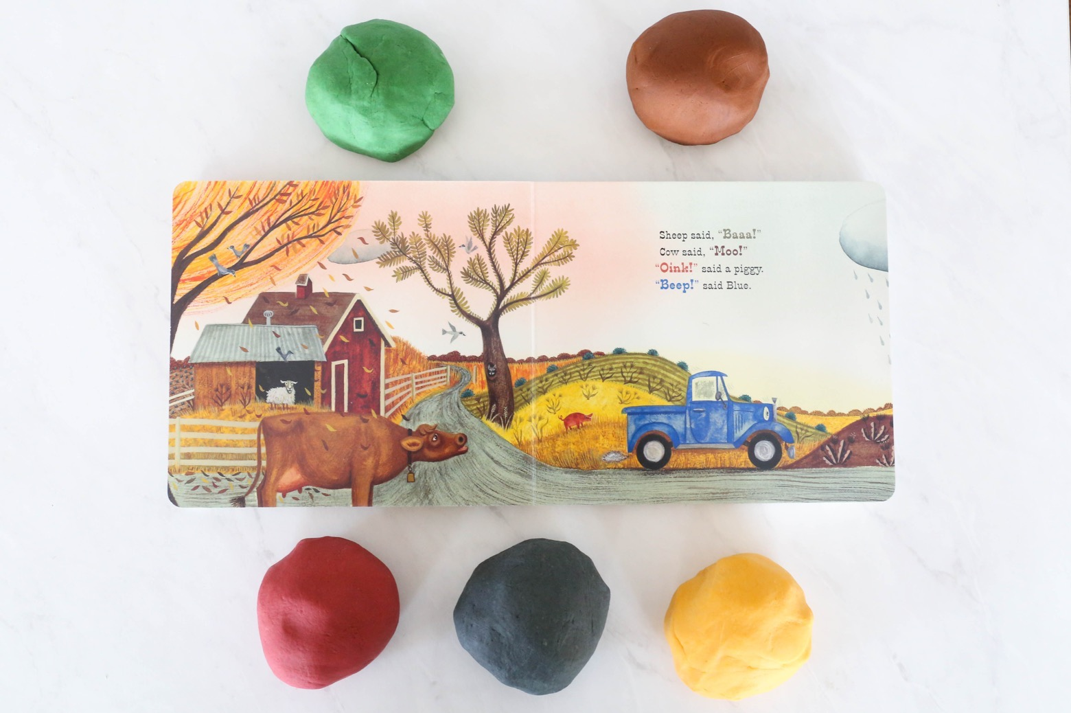 Little Blue Truck Play Dough Kit | Mama.Papa.Bubba.