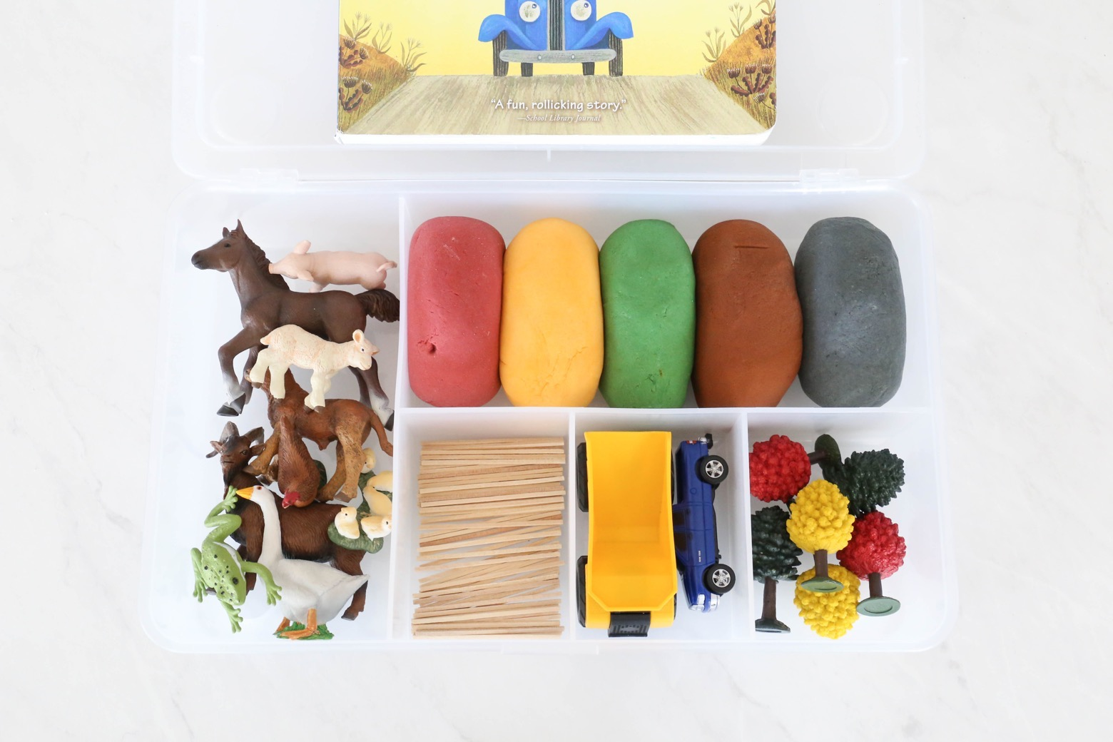 Little Blue Truck Play Dough Kit
