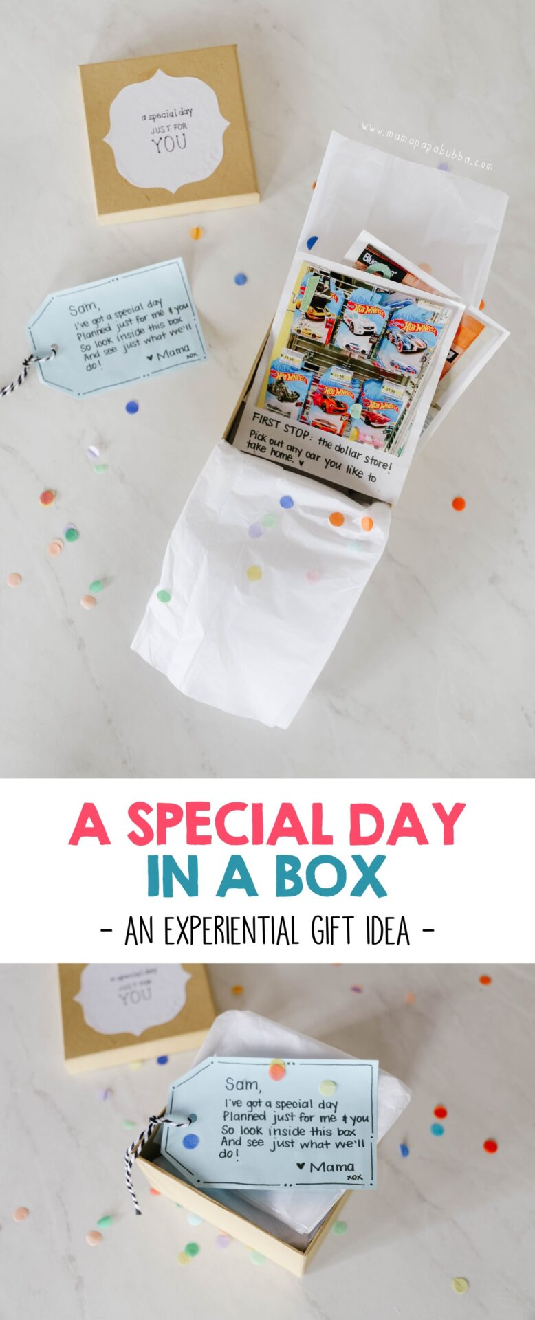 A Special Day in a Box | Mama Papa Bubba