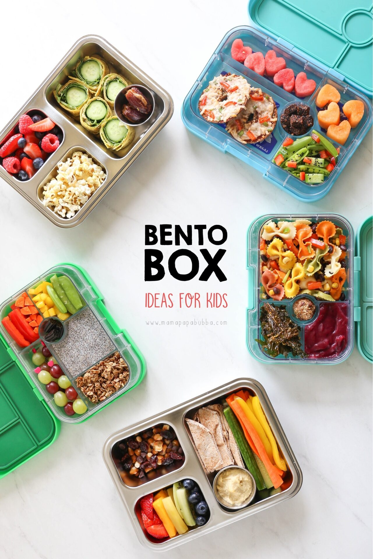 Bento Box Ideas for Kids | Mama Papa Bubba