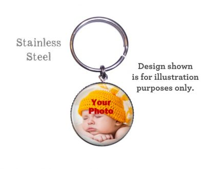 Custom Photo Pendant Keyring or Purse Charm