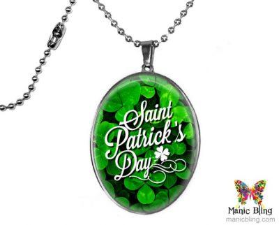 Large St Patricks Pendant St. Patrick's Day