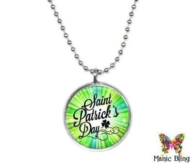 Small St Patrick's Pendant St. Patrick's Day
