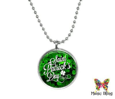 St Patrick's Day Small Pendant