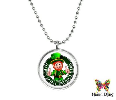 Small Leprechaun Pendent St. Patrick's Day