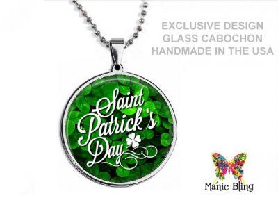 St Patricks Clover Pendant St. Patrick's Day