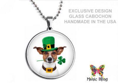 Saint Patrick's Dog Pendant