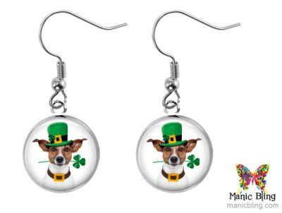 Lucky Dog Earrings