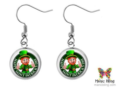 Leprechaun Dangle Earrings