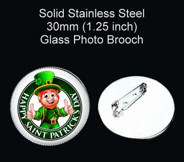Leprechaun Brooch St. Patrick's Day
