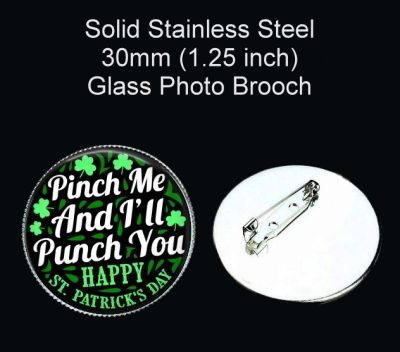 Pinch Me Brooch