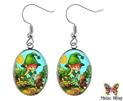 Lucky Elf Earrings St. Patrick's Day
