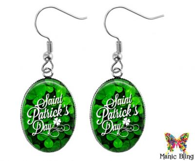 Saint Patricks Day Earrings