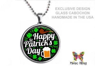 St Patrick's Beer Pendant