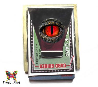 Red Dragon Eye Money Clip