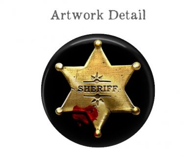 Sheriff Star Money Clip