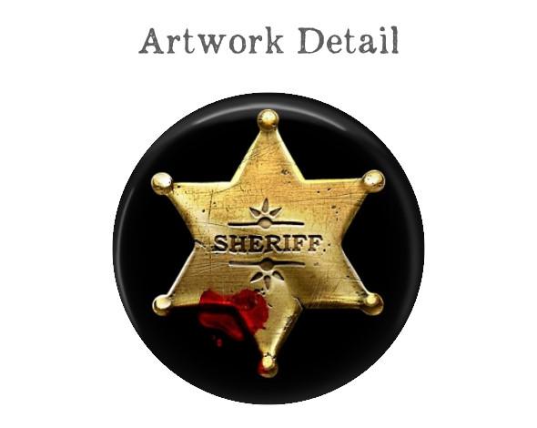 Sheriff Star Money Clip