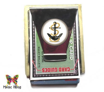 Nautical Boating Money Clip