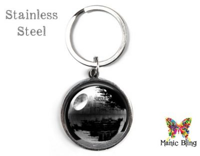 Death Star Keyring Black Men's Keyrings