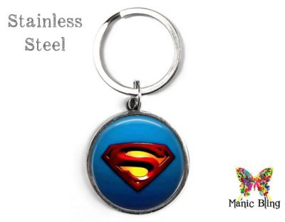 Superman Keyring Men's Keyrings