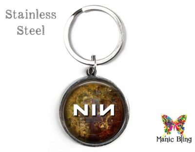 Nine Inch Nails Keyring Men's Keyrings