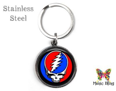 Grateful Dead Keyring Men's Keyrings