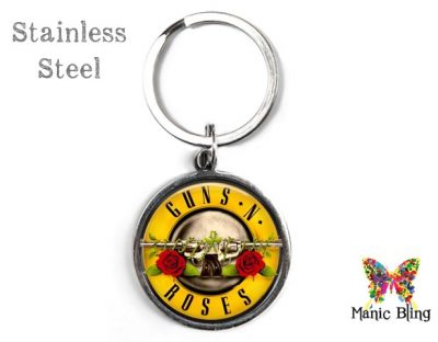 Guns N Roses Keyring Men's Keyrings