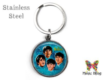 Vintage Beatles Keyring Men's Keyrings