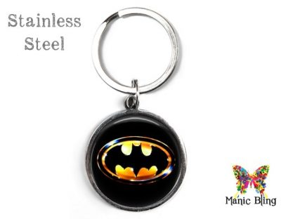 Batman Keyring Men's Keyrings