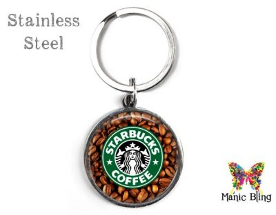 Starbucks Keyring Men's Keyrings