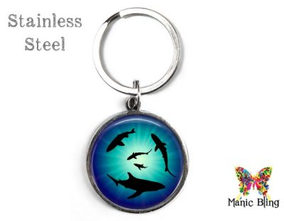 Sharks Keyring Men's Keyrings