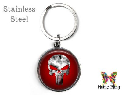 Punisher Keyring Men's Keyrings