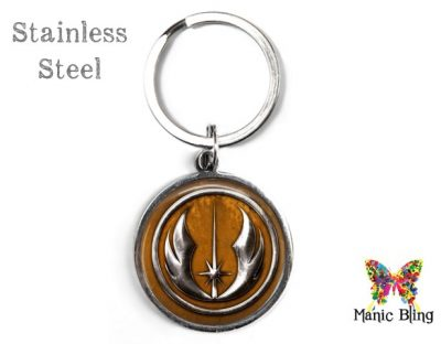 Jedi Empire Brown Keyring Men's Keyrings