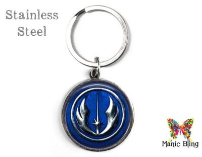 Jedi Empire Keyring Blue Men's Keyrings