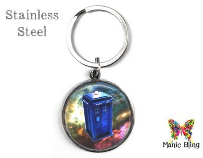 Dr. Who Tardis Keyring Men's Keyrings