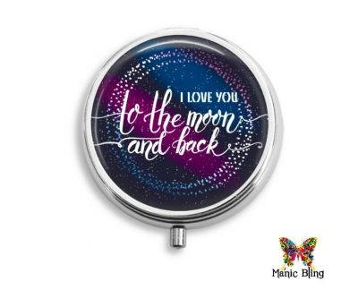 To the Moon and Back Pill Box Mother's Day