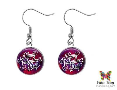 Valentines Day Small Dangle Earrings